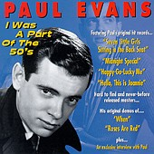 """I Was a Part of the 50s"" CD cover"